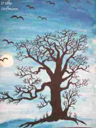 Dolphins Dream (Silke Hoffmann) - Baum