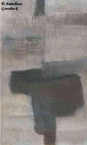 Anneliese Giersbeck, Öl auf Leinwand, 85 x 135 cm
