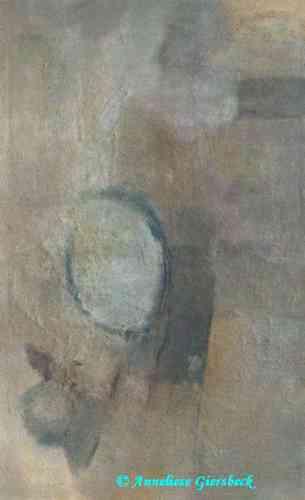 Anneliese Giersbeck, Öl auf Leinwand, 84  x 135 cm