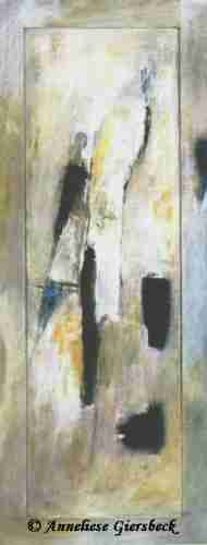 Anneliese Giersbeck, Acryl auf Holz, 65  x 150 cm