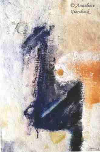 Anneliese Giersbeck, Acryl auf Bütten, 39  x 56 cm