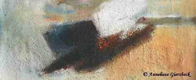 Anneliese Giersbeck, �l auf Leinwand, 48 x 21 cm