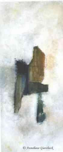 Anneliese Giersbeck, Öl auf Leinwand, 65  x 155 cm
