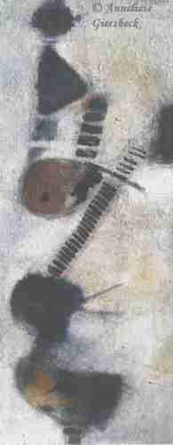 Anneliese Giersbeck, Öl auf Leinwand, 65 x 165 cm