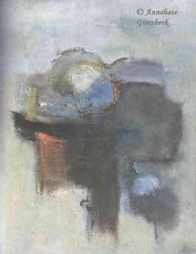 Anneliese Giersbeck, Öl auf Hartfaser, 55 x 70 cm
