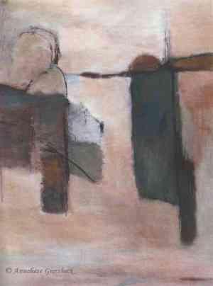 Anneliese Giersbeck, Acryl auf Holz, 60 x 80 cm