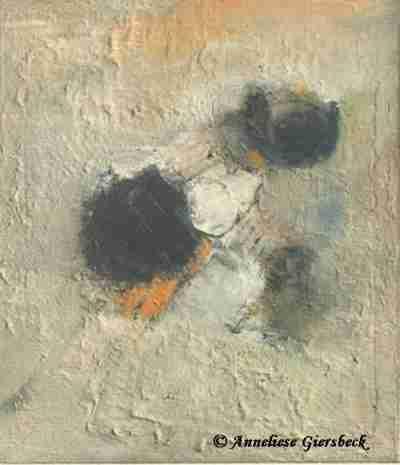 Anneliese Giersbeck, Öl auf Leinwand, 60 x 70 cm